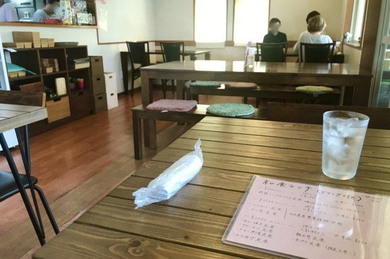キッチンとカフェのお店 Passo(パッソ)のテーブル席