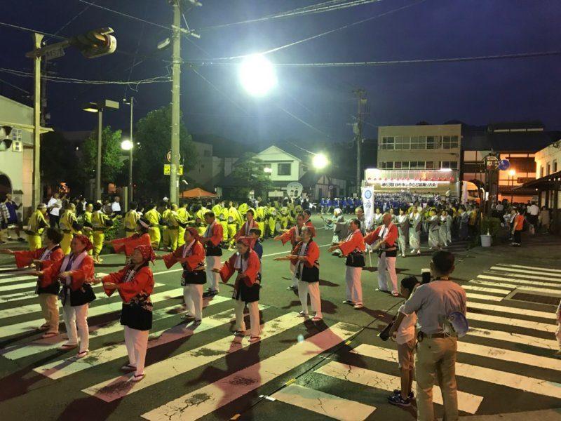 臼杵市 ふるさと盆踊り大会