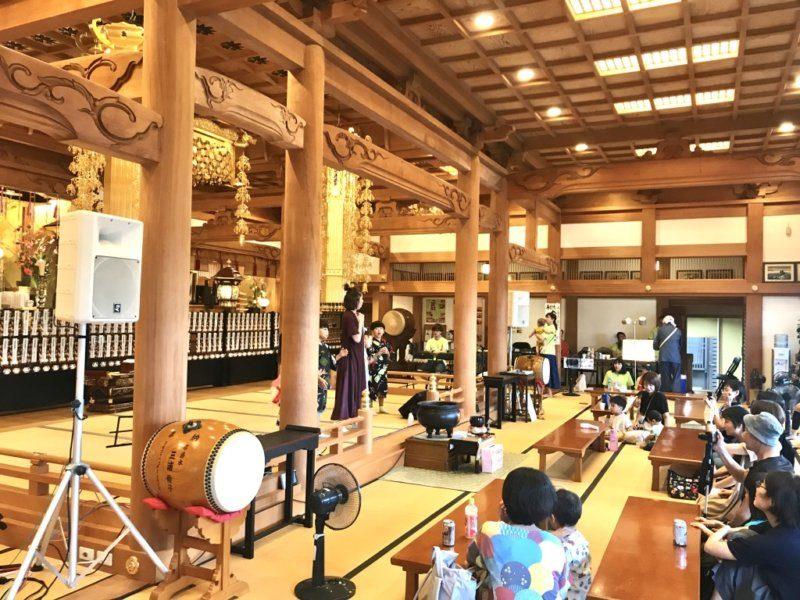 【夏のイベント】寺フェスが開催